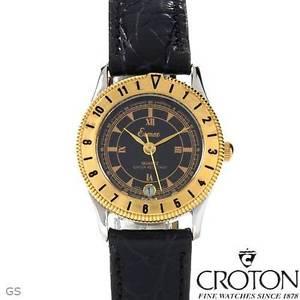 【送料無料】腕時計 クロトンブランドウォッチドルcroton brand date watch ** buyz 25000