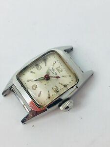 【送料無料】腕時計 スイスワイラーインカフレックスレディースラグwyler incaflex ladies horned lug swiss automatic watch