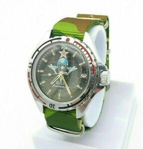 【送料無料】腕時計 ビンテージヴォストークソソウォッチvintage vostok komandirskie military watch paratrooper vdv force ussr soviet