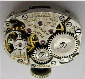 【送料無料】腕時計 レディウォッチムーブメントlecoultre 9oln lady watch movement 17 jewels for parts vxn