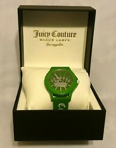 【送料無料】腕時計 ジューシークチュールラベルアクセントシリコーン
