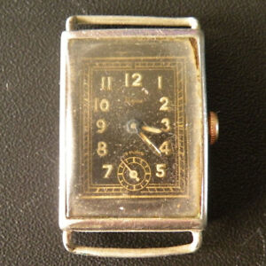 【送料無料】腕時計 スイスビンテージタンクelgine swiss tank military working wrist watch vintage collectible authentic rrr