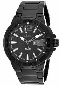 【送料無料】腕時計 エベレストメンズブラックベゼルブラックストーンブラック