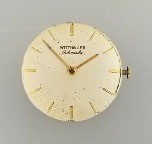 【送料無料】腕時計 ビンテージメンズオートマチックムーブメントウィットvintage wittnauer mens automatic wrist watch movement runs caliber 67ag