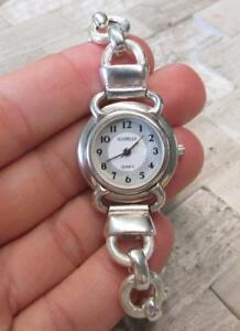 【送料無料】腕時計 ジャンスターリングシルバーグラムgianello all sterling silver womens wristwatch 734 ~ 411grams ~ 5e7428