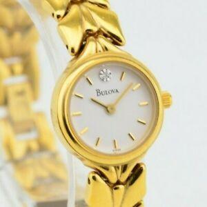 【送料無料】腕時計 ヴィンテージレディースクオーツアナログゴールドウォッチvintage ladies bulova analog gold quartz watch jdm f89061