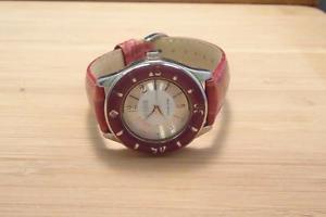【送料無料】腕時計 レザーストラップクォーツecclissi womens quartz wristwatch with leather strap ~ 10b463