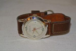 【送料無料】腕時計 ビンテージギルバートアンチスイスrare vintage gilbert antimagnetic nivarox wind up watch swiss made