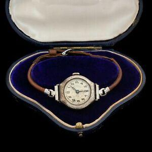 【送料無料】腕時計 アンティークビンテージアールヌーボーkゴールドスイスレディースantique vintage art nouveau 14k gold filled gf swiss foliate womens wrist watch