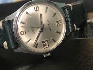 【送料無料】腕時計 ビンテージウォルサムスイスムーブメントvintage waltham men wrist watch swiss made 17 jewels handwinding movement35mm