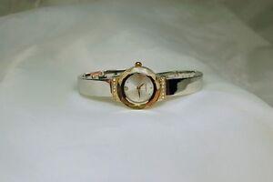 【送料無料】腕時計 ブレスレットキュービックジルコンquality quartz wrist watch bracelet silveramp;cubic zircon