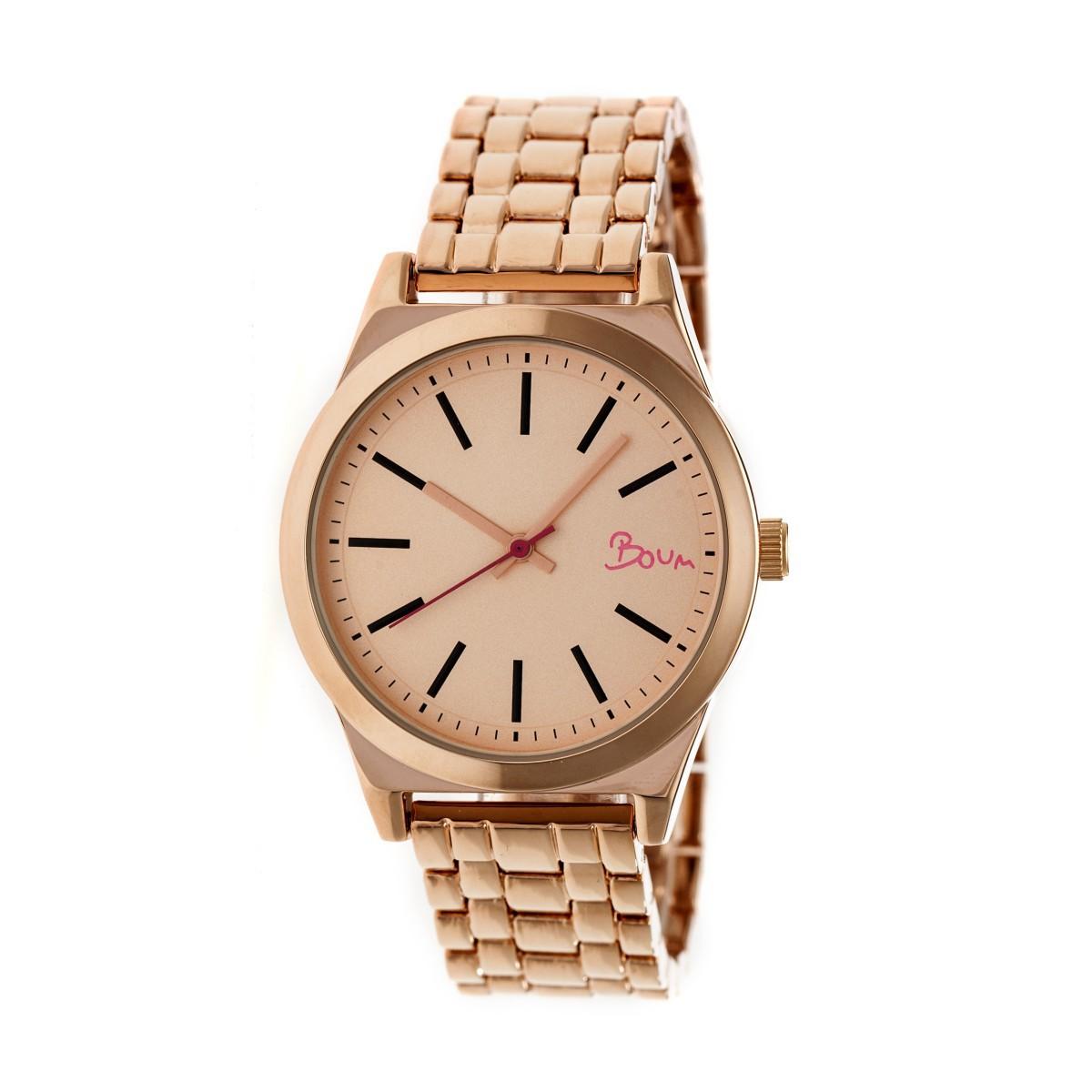 【送料無料】腕時計 エネルギーローズゴールドブレスレットboum energie womens rose gold bracelet watch bm4503