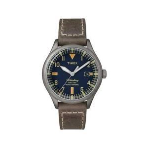 【送料無料】腕時計 ウォーターベリーブルクラシコペレorologio timex the waterbury tw2p84400 pelle marrone blu classico indiglo