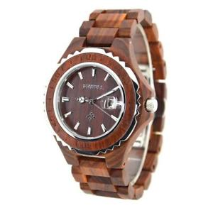 【送料無料】腕時計 wooden luxury watchw100bgmen