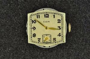 【送料無料】腕時計 ビンテージメンズウオッチメーカーvintage cal 526 elgin mens wristwatch movement