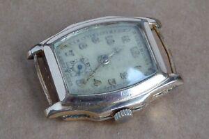 【送料無料】腕時計 ゴールドプレートウォッチスタンプケースラグgents gold plate watch, rw stamp, working, 26mm case, fixed lugs