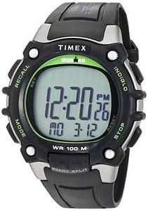 【送料無料】腕時計 メンズラップアラームクロノグラフtimex tw5m03400, mens ironman 100lap watch, 5 alarms, indiglo, chronograph