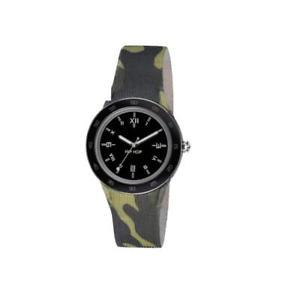 【送料無料】腕時計 ヒップホップシリコーンカムフラージュorologio uomo hip hop x man hwu0704 silicone camouflage militare nero 42mm