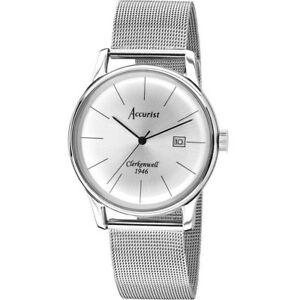 【送料無料】腕時計 ビンテージウォッチクラーケンウェルaccurist gents vintage clerkenwell 1946l watch mb1034s
