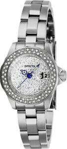 【送料無料】腕時計 シルバーストーンブレスレットクォーツinvicta 28453 womens angel silver tone bracelet quartz watch