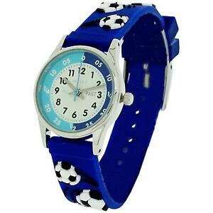 【送料無料】腕時計 サッカーバルク10x bulk for school reflex time teacher boys kids blue football  watch refk0007