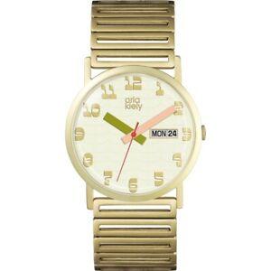 【送料無料】腕時計 マディソンレディースブレスレットorla kiely madison ladies gold plated bracelet watch ok4056oknp