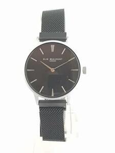 【送料無料】腕時計 ストラップシルバーエリーウォッチ
