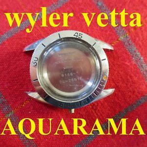 【送料無料】腕時計 カサワイラーサブダイバーケーススチールリファレンスcassa wyler vetta aquarama sub diver case automatic watch s steel ref 81687