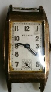 【送料無料】腕時計 ジュネーブancienne montre dame fidus geneve suisse numerotee