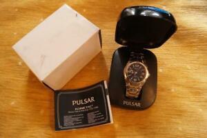 【送料無料】腕時計 パルサーstunning boxed gents pulsar kinetic yt57x020