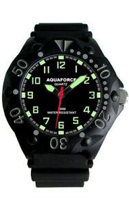 【送料無料】腕時計 アクアフォースダイブウォッチmaqua force dive watch 200m water resistant