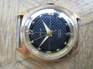 腕時計 ビンテージパーツart vintage gold plated helva manual cal eta 2370 for parts