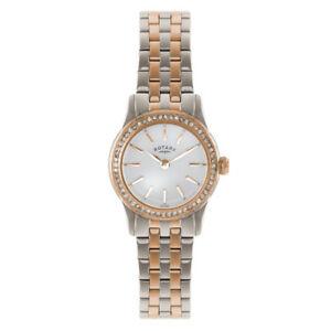 【送料無料】腕時計 ロータリートーンステンレススチールブレスレットポンドrotary womens two tone stainless steel bracelet quartz watch lb0257201s