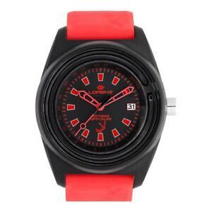 【送料無料】腕時計 シリコーンロッソネロサブメートルorologio lorenz 30033cc silicone rosso nero profondimento sub 100mt