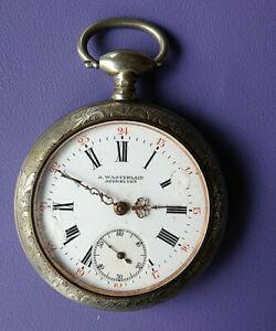 【送料無料】腕時計 ノートルダムデュキャップancienne montre de poche ou de gousset a cle a wasterlain