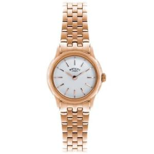 【送料無料】腕時計 ロータリーローズゴールドステンレススチールブレスレットポンドrotary womens rose gold plated stainless steel bracelet quartz watch lb0257301