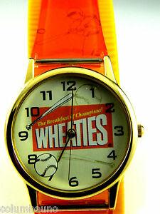 【送料無料】腕時計 onicアウトタグウォッチwheaties baseball watch by nelsonic character watch with out tag