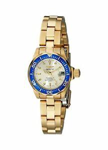 【送料無料】腕時計 プロダイバークォーツステンレススチール4610 invicta womens pro diver quartz 200m gold plated stainless steel watch