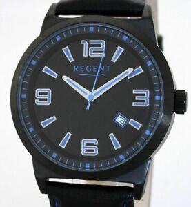 【送料無料】腕時計 スポーティスチールブラックメンズウォッチユーロ