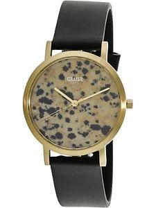 【送料無料】腕時計 ラロシュブラックレザークォーツファッションウォッチ