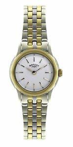 【送料無料】腕時計 ロータリートーンブレスレットスチールケースポンドrotary womens two tone bracelet steel case quartz watch lb0257103