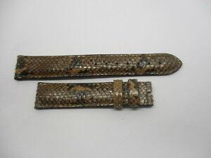 【送料無料】腕時計 ブレスレットオートクチュールベージュウエストbracelet haute gamme beige et noir en python veritable taille 16