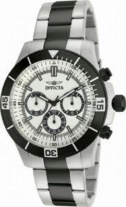 【送料無料】腕時計 #ラウンドアナログシルバーストーンブラッククロノグラフウォッチ