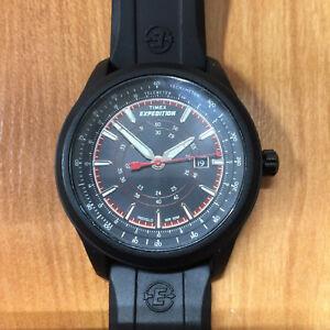 【送料無料】腕時計 テレメータタキメーターウォッチexcellent timex expedition telemeter tachymeter wr 50m indiglo watch 905 01