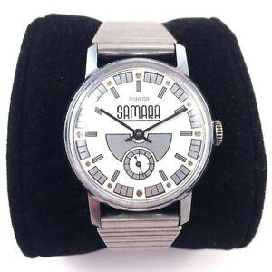 【送料無料】腕時計 ロシアサマラヴィンテージソrussian pobeda samara windup watch, vintage 70s serviced, ussr*us seller* 1128