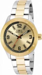 【送料無料】腕時計 メンズラウンドアナログブラックゴールドトーンウォッチ
