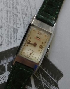 【送料無料】腕時計 スイス1940s dila 15 jewels swiss made wrist watch