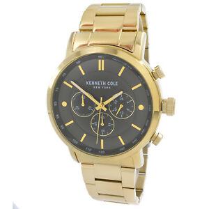 【送料無料】腕時計 ケネスメンズクラシックゴールドトーンブレスレットkenneth cole kc50502006 mens classic gold tone bracelet watch