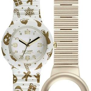 【送料無料】腕時計 ヒップホップクリスマスシリコーンミリcofanetto orologio hip hop xmas hwu0831 silicone bianco small 32mm alluminio