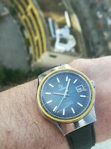 【送料無料】腕時計 ヴィンテージフランスmontre vintage 1970's french watch yema date antimagnetic cal fe 140 1b